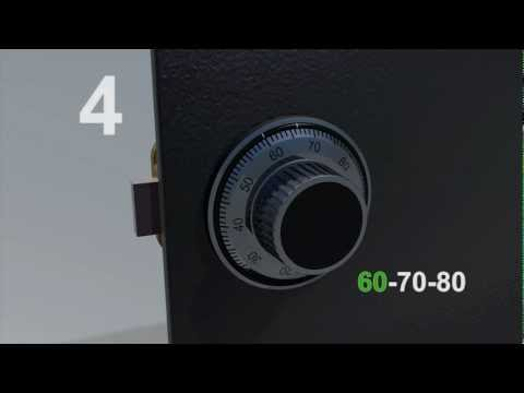 LA GARD Mechanical Lock: 3-Wheel - How to Change the Factory Combination