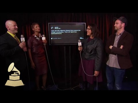 "Alabama Shakes backstage at ""The GRAMMY Nominations Concert Live!!"""