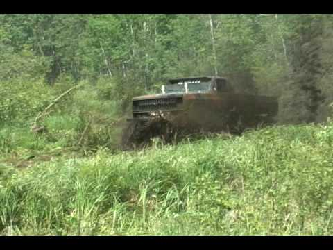 Monster Truck Mud Bogging Mudding Video