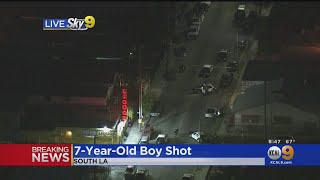 7-Year-Old Child Injured In South LA Shooting, Condition Unknown