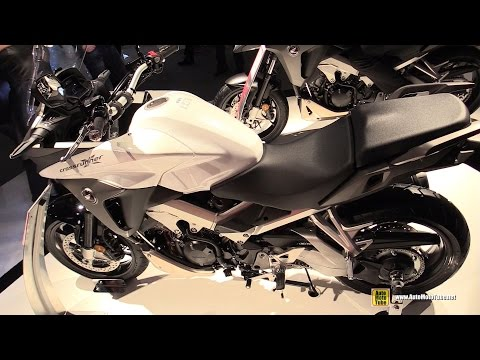 2015 Honda Crossrunner ABS - Walkaround - 2014 EICMA Milan Motorcycle Exhibition