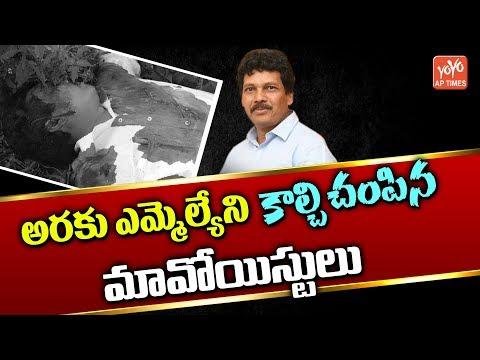 TDP MLA Kidari Sarveswara Rao Shot By Maoists in Visakhapatnam | YOYO AP Times