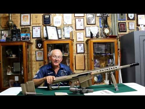 Barrett M107 .50 cal sniper rifle first impressions with champion shooter, Jerry Miculek!