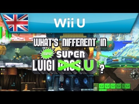 What's Different in New Super Luigi U? (Wii U)