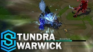 Tundra Warwick (2017) Skin Spotlight - League of Legends