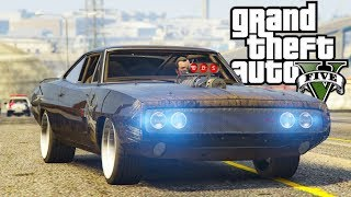 GTA V : FUGA DE DODGE CHARGER ( MÁQUINA MORTÍFERA DO TJ ) : GTA 5 MODS