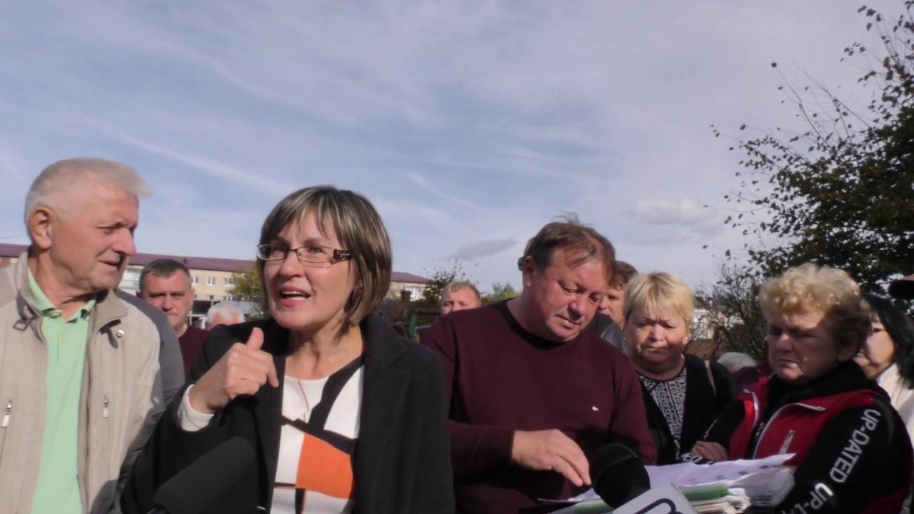 Калушани погрожують депутату-забудівнику розкласти палатки