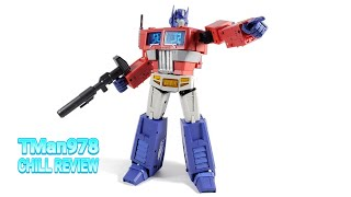 Magic Square MS-01 Light of Freedom 3rd Party Optimus Prime CHILL REVIEW