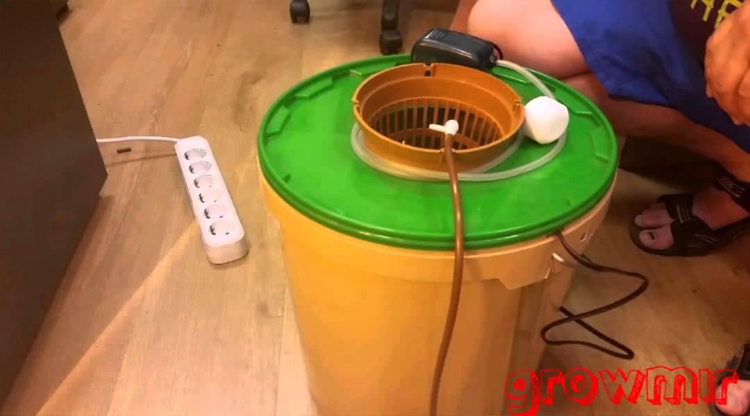 Простая гидропонная установка своими руками
