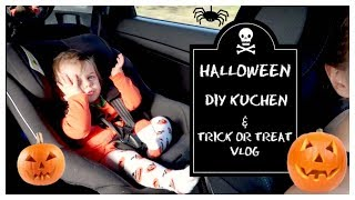 VLOG DIY Kürbis Kuchen DISASTER | TRICK OR TREAT | SARAH-JANE 💖