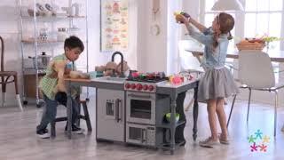 Kidkraft Chef's Cook N Create Island Play Kitchen
