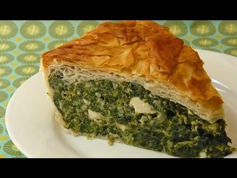 Como hacer Tarta o Pastel o Pascualina de Espinaca o Acelga