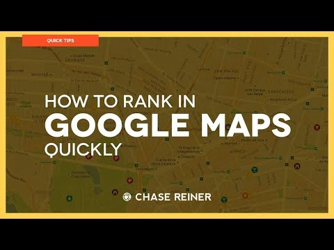 How To Rank In Google Maps Quickly | Local SEO 2018