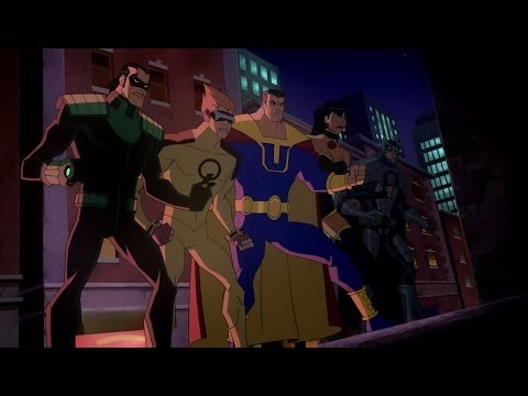 Justice League Vs Crime Syndicate video