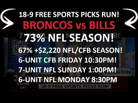 FREE NFL PICKS – Expert NFL Predictions Week 3 Spread Pick 9/24/2017 (23-9 72% FOOTBALL RUN)
