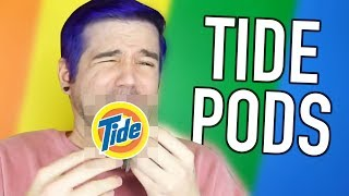STOP EATING TIDE PODS