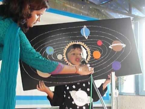 Param S Fancy Dress Performance Solar System08092012 Youtube