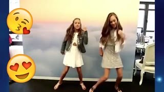 Maddie Ziegler and Mackenzie dance MARACENA FLASHMOB 2017 -  Best dance ever