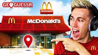 We had to find RANDOM McDonalds all over the WORLD