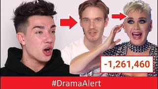 James Charles - RESPONDS! #DramaAlert Katy Perry , PewDiePie , Shane Dawson & Jeffree Star