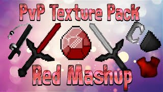★ Red Mashup PvP Pack - Minecraft - 1.7 1.8 1.9 UHC