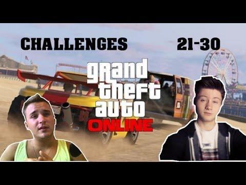 DNER vs. KEV | GTA 5 ONLINE Zusammenfassung | Challenges 21 - 30
