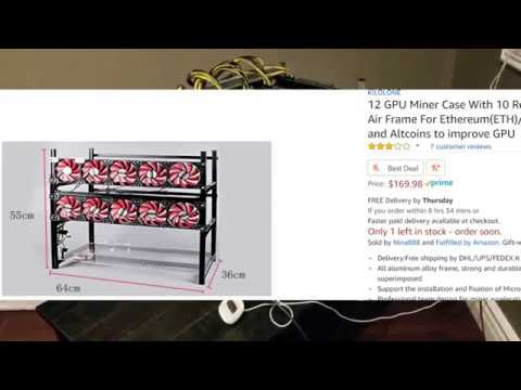 12 GPU Mining Rig Frame Review