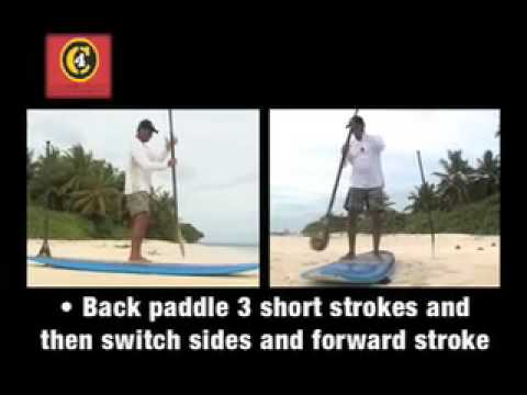 C4 How To Stand Up Paddle Surf Part 2