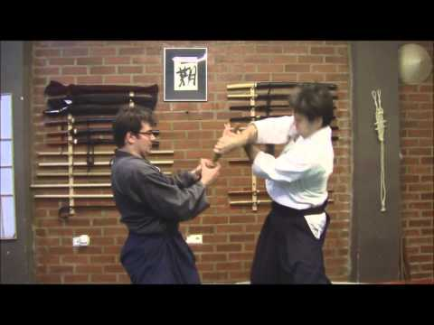 Ogawa Ryu - Aikijujutsu - Pre-encounter Training March 2013 Image 1