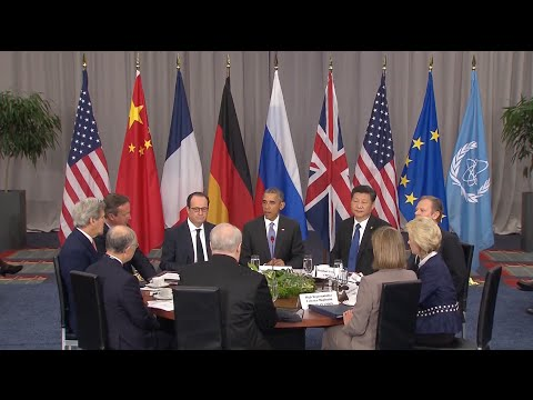 Leaders from The P5+1 Group, IAEA and EU Hold Talks on Iran Nuclear Deal