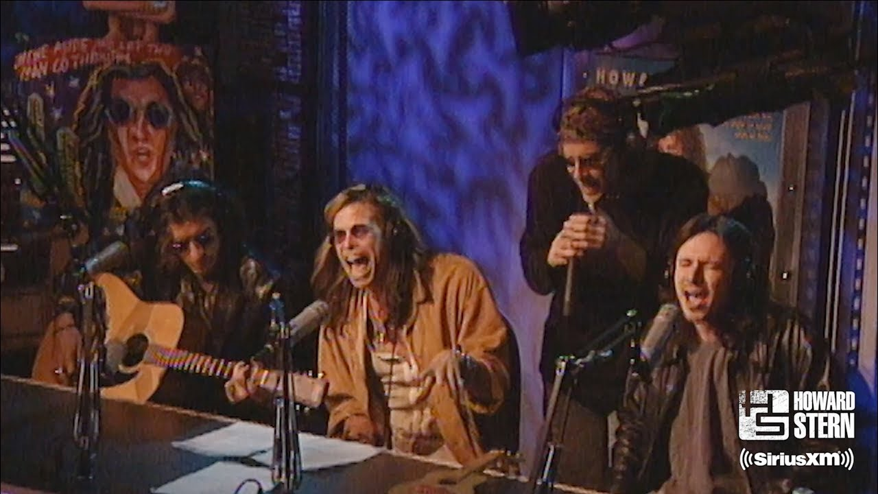 Aerosmith (Steven Tyler & Joe Perry) - 1997年出演「The Howard Stern Show」から