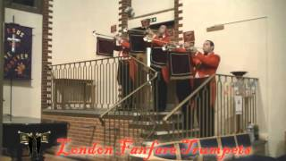 The London Fanfare Trumpets   Dignified Fanfare