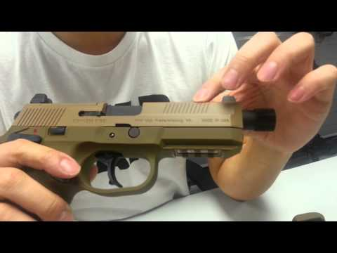 Cybergun FNX gbb prototype review (Engish) by CRW