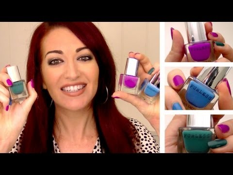 ♥ FURLESS NAIL POLISH REVIEW! Cruelty Free & Vegan Cosmetics! OPI Comparison ♥