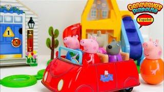 Aprende los Colores con Peppa Pig Weebles y Casa de Muñecas