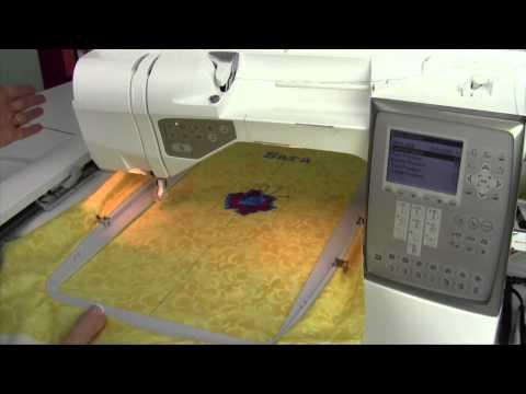 Husqvarna Viking Topaz 30 76 Embroidery Park Position