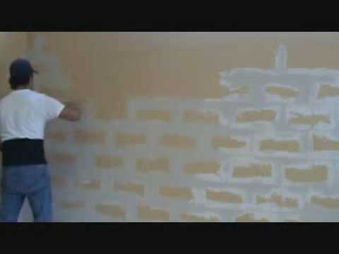 How to install quickset joint compound to concrete block - Concrete block painting ideas ...