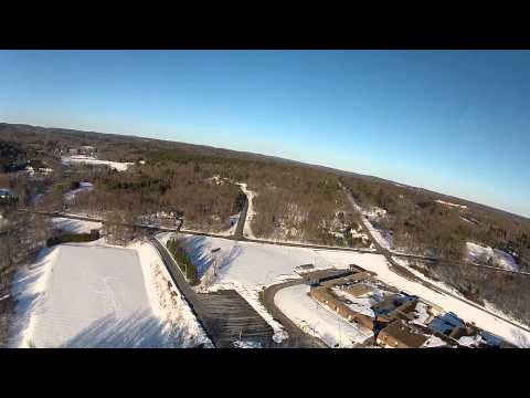 Flight over Tolland Middle School