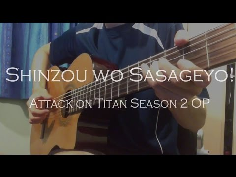 Attack On Titan Season 2 OP - Shinzou Wo Sasageyo! (Fingerstyle Cover)