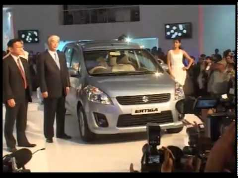 Suzuki Ertiga AT 2012 Autoexpo India Video