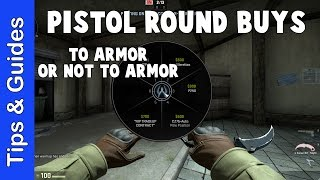 What to Buy on Pistol Round (Armor vs Nades vs Weapons)