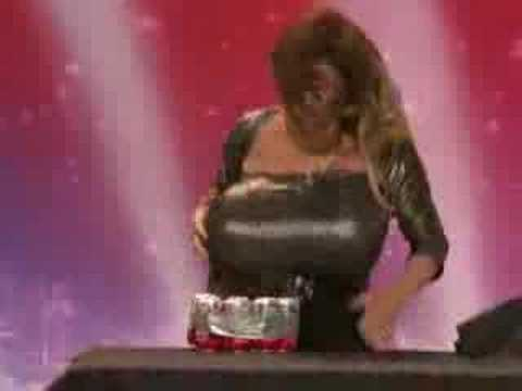 American Got Talent S3 Busty Heart