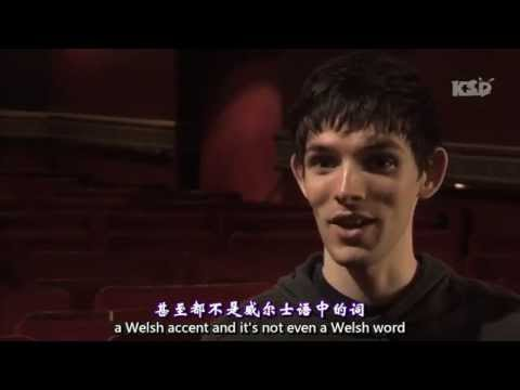 【中英】Colin Morgan Merlin, BBC Merlin talks about A Night Less Ordinary