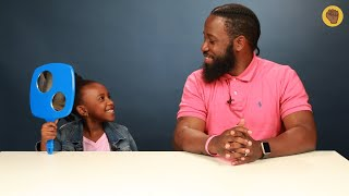 Black Dads Do Their Daughters Hair For The First Time