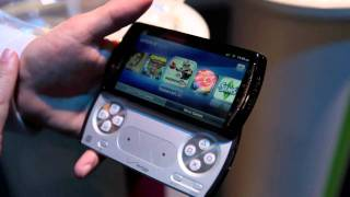 Sony Ericsson Xperia Play hands-on at CTIA Wireless, Playstation Android smartphone