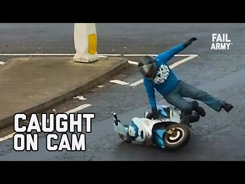 Play this video CAUGHT ON CAM  Security Cameras Compilation 2021