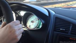 322 km/h (200 mph) on German Autobahn - Audi R8 GT Spyder - PLEASE FILL UP!