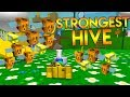 ROBLOX BEE SWARM SIMULATOR *STRONGEST BEEHIVE POSSIBLE*