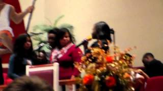 "The Simmons Family Singing ""Lord Do It""  By  Bishop Hezekiah Walker the LFT Church Choir 1"