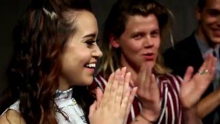 "Megan Nicole, Jacob Whitesides, Conrad Sewell, & The Cast of 'School of Rock' Play ""Lose Da Lyrics""!"